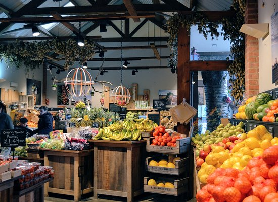Market Harborough, UK: Explore our farm shop for lots of locally grown vegetables