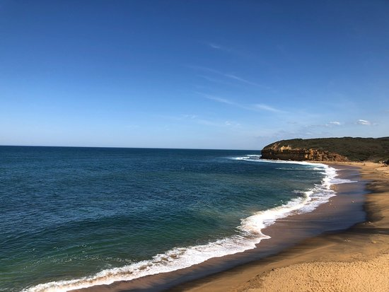 Bells Beach, Australien: March 2019