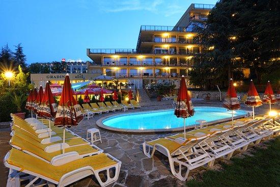 Lobby terrace – Foto de Gradina Hotel, Areias de Ouro - Tripadvisor
