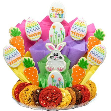 Winter Cookie Bouquet - Picture of