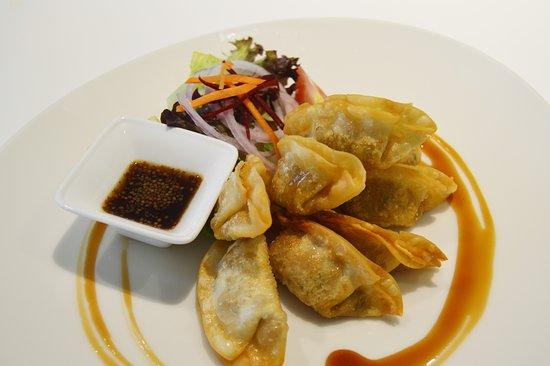 8. vegi dumpling (mandu)