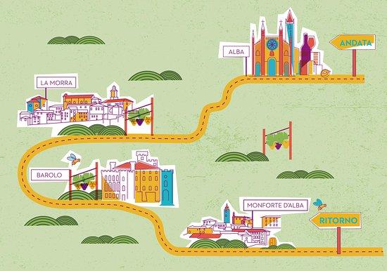 Tour delle Langhe Bus panoramico