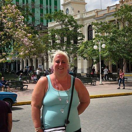 Visiting Cuban friends