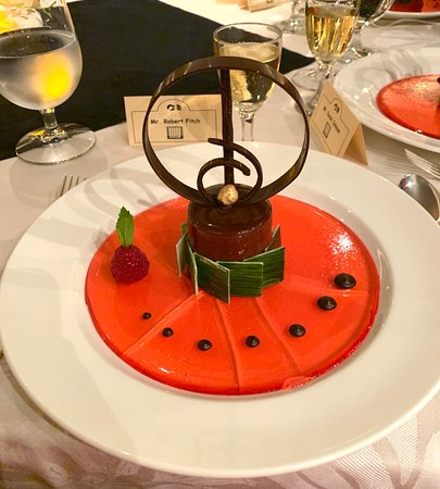 Caribbean Princess: Chef's Table Dessert