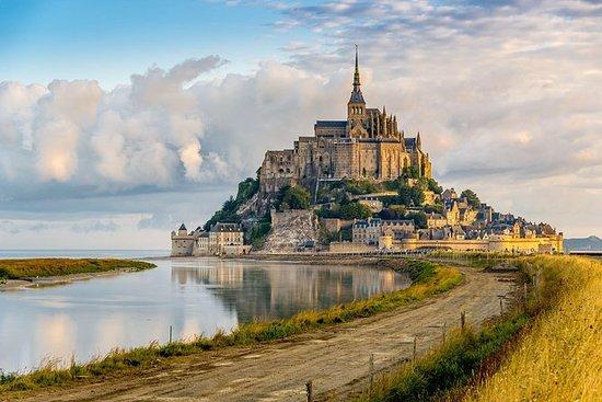 Viagem diurna ao Monte Saint-Michel...
