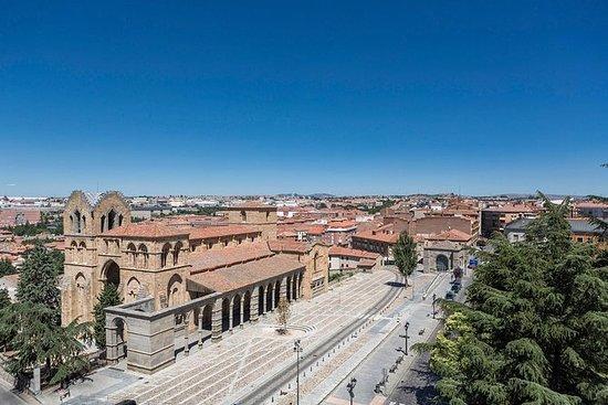 Avila with Walls Access and Segovia...