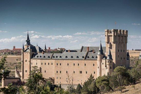 Pedraza和Segovia游览与马德里的大教堂和Alcazar入口