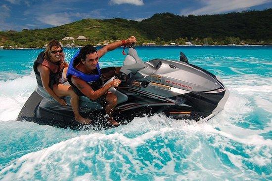 Bora Bora Jet-Ski-Tour, Mittagessen...