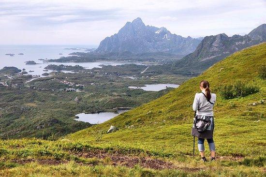 Naturwanderung auf den Lofoten