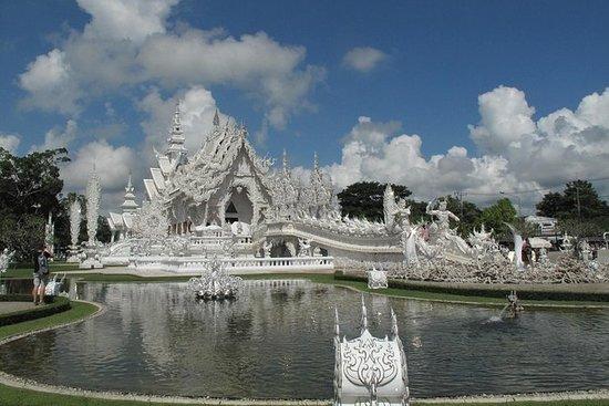Chiang Rai dagstur fra Chiang Mai...