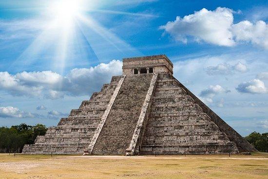 Viagem diurna a Chichén Itzá...