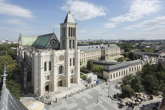 Basilica Cathedral of Saint-Denis...
