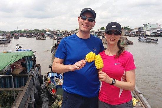 Største Autentisk Floating Market Tour