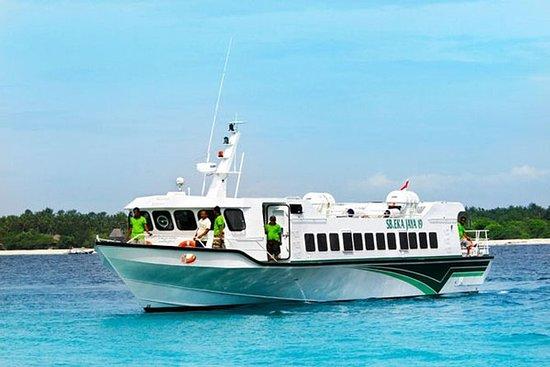 Fastbåt til Gili Trawangan eller Gili...