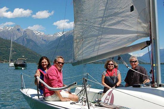 葡萄酒和風:在地窖品嚐,在科莫湖上的帆船上享用帆船賽