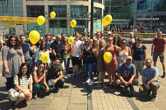 the Free Manchester Walking Tour