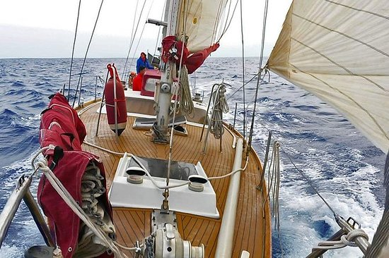 Uma semana em um veleiro nas Ilhas...