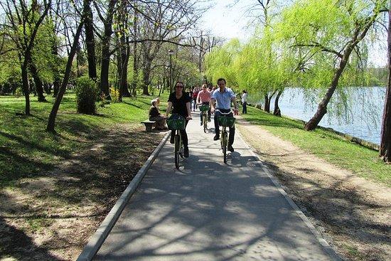 在布加勒斯特观光的自行车