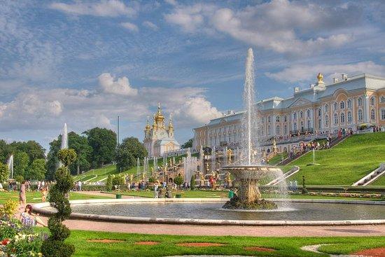 5小时小团体彼得夏宫宫殿和公园之旅