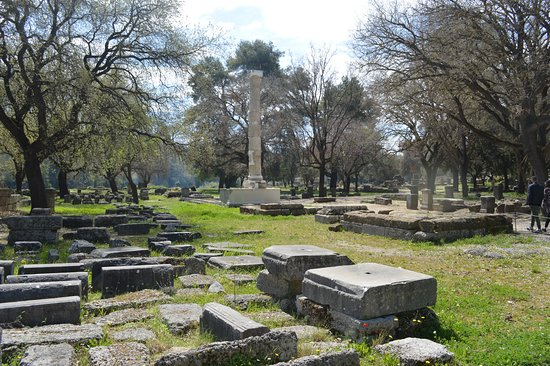 Archaeological Site of Olympia : Faire jouer son imagination