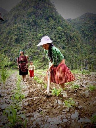 Hmong ethnic people in Dong Van