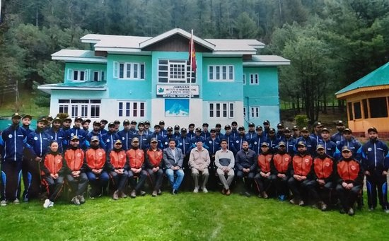 Part of Adventure Travel Escort Training by Indian Mountaineering Foundation