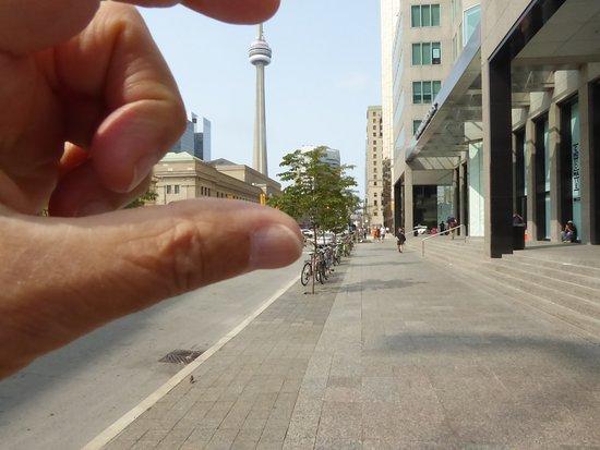 Kanada: Toronto - La CN Tower Toronto - The CN Tower