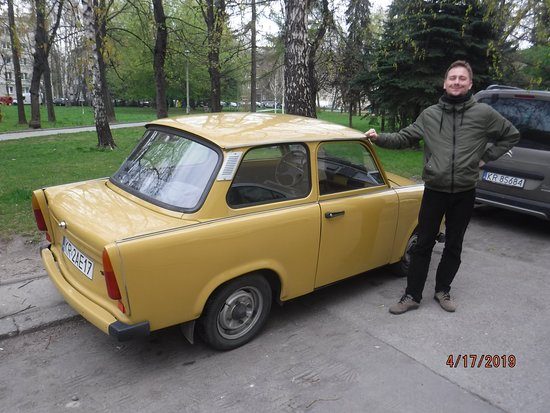 Communism Tour in a Genuine Trabant Automobile from Krakow: Tour guide and car