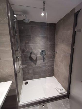 Oh the shower... rainfall head