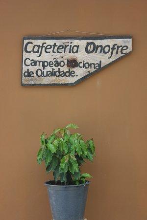 Caparao National Park, ES: Cafeteria do Onofre - Forquilha do Rio - Serra do Caparaó Eleito melhor café do Brasil.