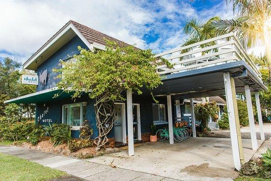 Entrance - Picture of Chalet Motel, Brunswick Heads - Tripadvisor
