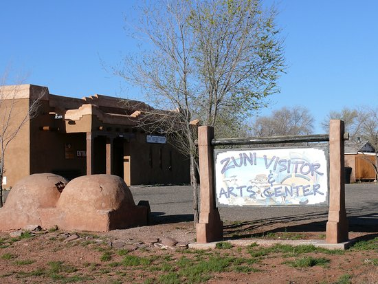 Make your first stop in Zuni at the Visitor & Arts Center to get local information, a map, photo permits and book tours!