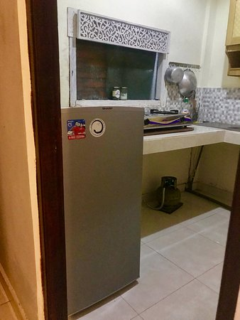 The Executive Double Room Kitchenette (not the most modern but it has everything you'll need if you decide to cook)