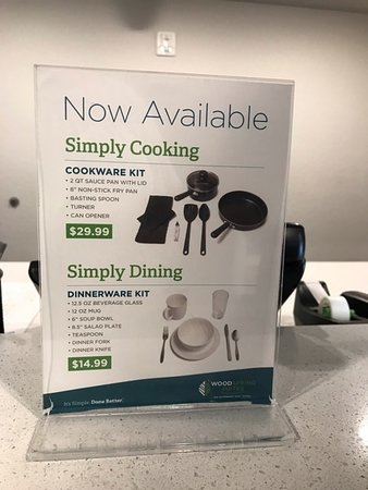 extra cost to use the room kitchen