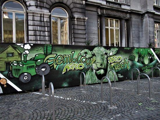 "Fresque ""Paliss'Art ULiège"""