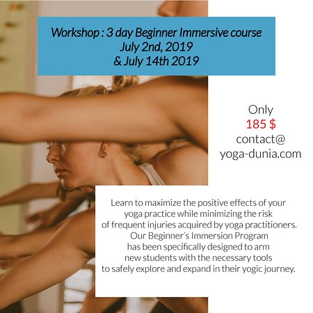 Workshop 3 day beginner immersion - July 2019