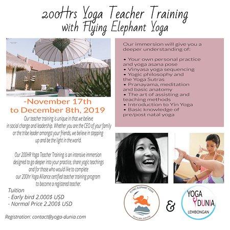 200 hr Yoga Teacher Training - November 2019