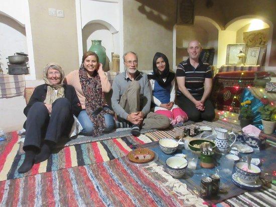 Farahzad, Iran: celebrating my birthday with new friends