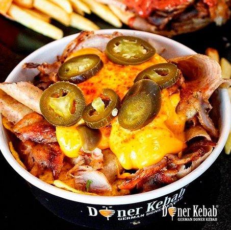 German Doner Kebab: Doner Nachos