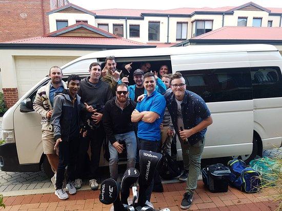 Perth Minibus Charters: Bucks Party Hire