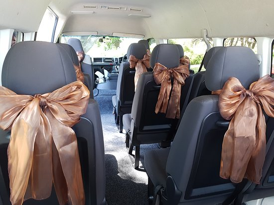 Perth Minibus Charters: Request extra decor for Wedding Guests - Complimentary!