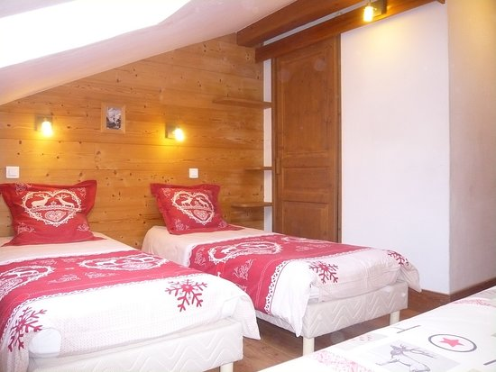 Residence Les Edelweiss: Chalet 5/7 personnes Le Nid d'Aigle