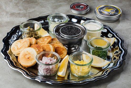 Caviar set