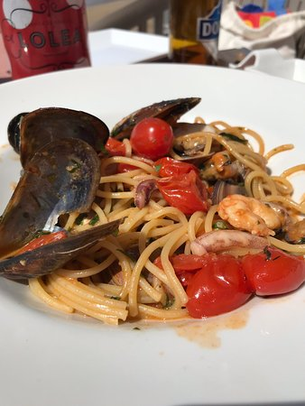 Italiano en primera línea de playa