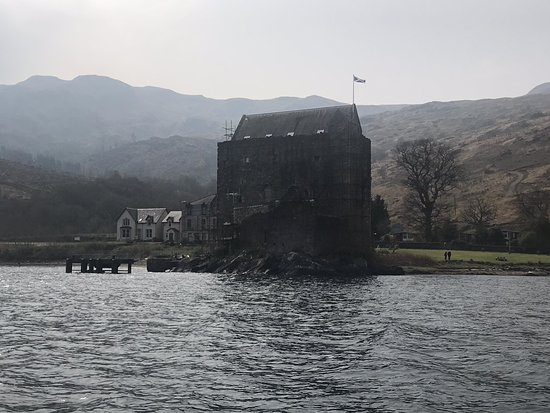 Lochgoilhead, UK: A few photos taken from our self hire boat trip using Loch Goil Crusiers on 18/4/19