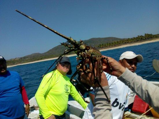 en Marquelia, Guerrero, lo que se puede disfrutar, fresco del mar