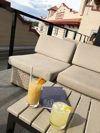 Hi-Fi Rooftop Bar