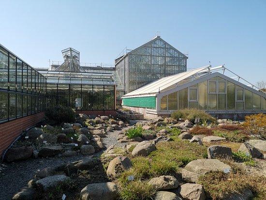 Botanischer Garten und Gewaechshaeuser
