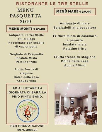 Polla, Italien: Menu fisso Pasqua e Pasquetta 2019
