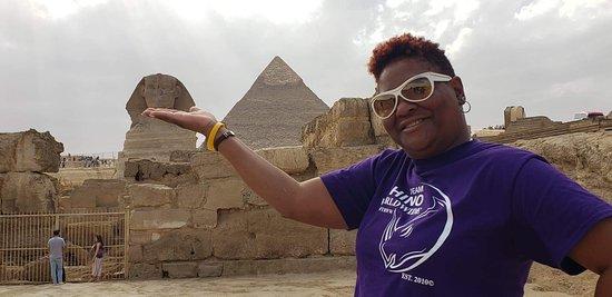 Pyramiden von Gizeh, Sphinx und Saqqara Foto
